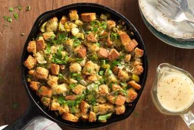 Gluten-Free Stuffing and Simple Gravy