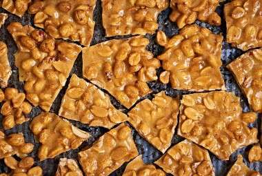 Microwave Nut Brittle
