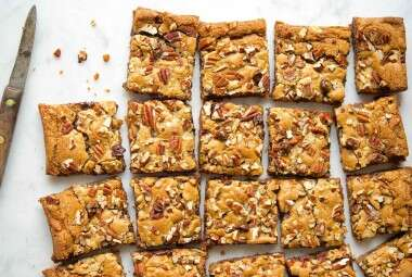 Crazy Blonde Brownies