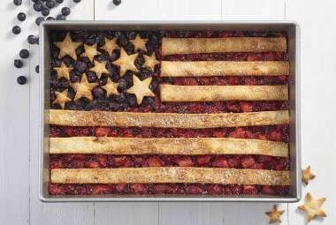 Fourth of July Flag Cobbler
