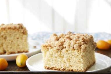 Sourdough Cinnamon Crumb Cake