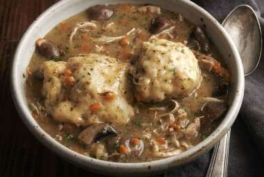 Chicken and Herb Dumplings
